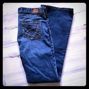 BKE Sabrina Stretch Bootcut Jeans 31L 31x35.5